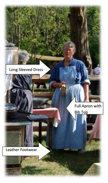 19th Century Womens Clothing Pennsylvania German
