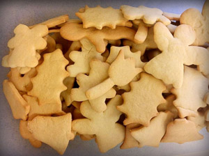 Pennsylvania German Cut Out Sugar Cookies, Goschenhoppen Historians, Red Men's Hall, Christmas Market,