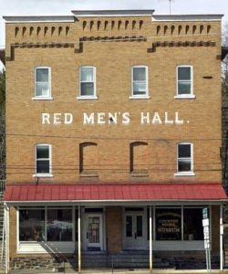 Red men's Hall, Goschenhoppen Historians, Green Lane, pa