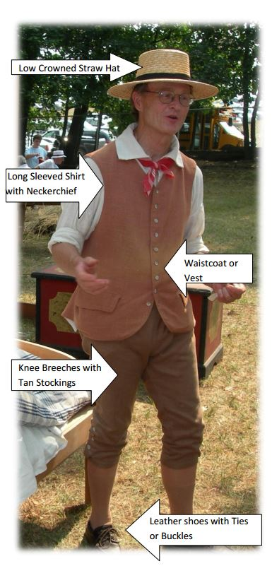 18th And 19th Century Pennsylvania German Clothing The