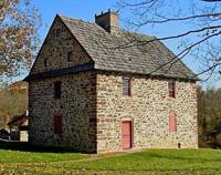 The 1726 Henry Antes House, The Goschenhoppen Historians, Perkiomenville PA